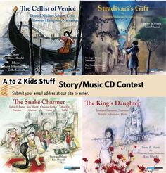 A to Z Kids Stuff Story/Music CDs January Contest.  Enter the A to Z Kids Stuff Story/Music CDs Contest for a chance to win enchanting stories with beautiful music. CDs Contest ends January 31, 2017.