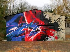 Artist: MadC The Splatter Wall In: Germany 2012
