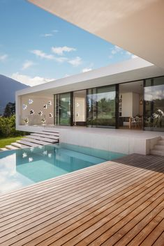 House T by monovolume architecture + design in Merano, Italy # architecture . Architecture Design, Italy Architecture, Dream House Exterior, Dream House Plans, Dream Houses, Luxury Home Decor, Luxury Homes, Luxury Interior, Dream Home Design