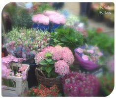 Fotografia del mercado de flores Amsterdam
