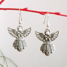 Angel Earrings by EridaneasBoutique on Etsy