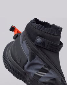 nike Acg Gaiter Boot In Black Top Shoes, Men's Shoes, Nike Shoes, Shoes Sneakers, Sneakers Sketch, Shoe Sketches, Sports Footwear, Nike Acg, Basketball Shoes