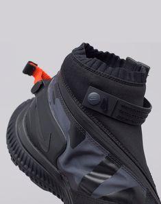 nike Acg Gaiter Boot In Black