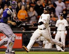 Sept 17-the GIANTS opened the last home stand playing the Colorado Rockies in the 1st of a four game series. The 1st 2 innings were scoreless, then the GIANTS put a run on the board in the 3rd. Colorado tied it up in the 5th and the GIANTS got the go-ahead run in the 6th. Brandon Crawford was on fire, with a triple and a ground rule double. He came so close to going yard. That kid can play! Final score: GIANTS 2, Rockies 1.