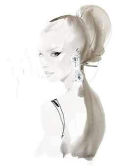 artoflovely:    David Downton (via The ART of Lovely)