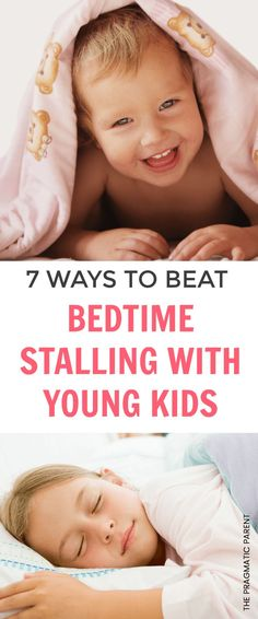 Does your child try everything in their power to stay up later at night? Bedtime stalling is tough but here are 7 ways to stop this common bedtime battle. 7 Ways to Beat Bedtime Stalling with Young Kids and squash bedtime power struggles forever. #kidswontgotosleep #toddlersleepproblems #sleepproblems #fixingsleepproblems