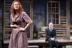 moon for the misbegotten - at the pearl theatre.  a bit of a disappointment.  tho reviewers liked it much.