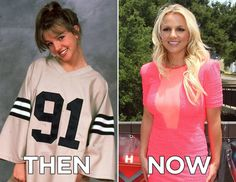 Britney Spears | Then And Now: The Best Celebrity Makeovers