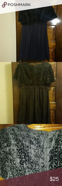 Vintage black baby doll dress WILL TAKE BEST OFFER Perfect for a night out. Dresses