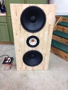 Open baffle kit from Rainy Lake Audio, MN, USA.