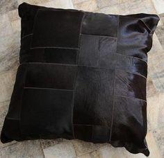 Fur Deco | hair on floor pillow 80x80
