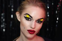 Betsey Johnson New York Fashion, Betsey Johnson, Halloween Face Makeup