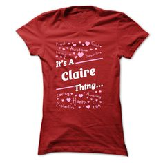 (Tshirt Suggest Sell) T-shirt for Claire Best Shirt design Hoodies, Funny Tee Shirts