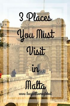 3 Places You Must Visit in Malta - If you are going to Malta you must visit these three places; the Tarxien Temples, the city of Mdina and St. John's Cathedral in Valletta #malta #europe #cruise #cruisetips #mediterranean