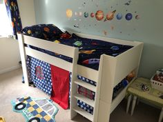 Bedroom Furniture Online, Childrens Bedroom Furniture, White Bedroom Furniture, Childrens Beds, Mid Sleeper Bed, Wood Beds, Bedding Shop, Toddler Bed, Kids