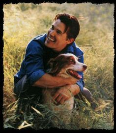 Josh Brolin Josh Brolin Young, Mans Best Friend, Best Friends, Movie Stars, Dog Food Recipes, Handsome, Country Roads, Couple Photos, Pets