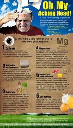 6 Tips for Curbing Migraines