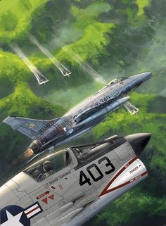 D and Aircraft - Aircraft art - Aircraft design - vintage Aircraft - Source Aircraft tumb Military Jets, Military Aircraft, Air Fighter, Fighter Jets, Illustration Avion, Luftwaffe, Photo Avion, War Thunder, Aircraft Painting