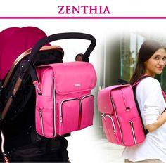 Zenthia Modern Waterproof Rip-Resistant Diaper Bag