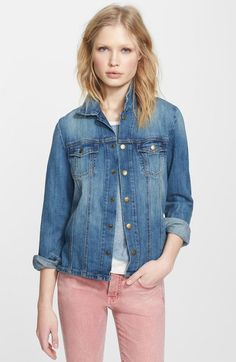 Current/Elliott 'The Mechanic' Jean Jacket available at #Nordstrom
