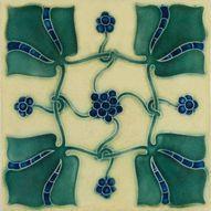William Morris tile.