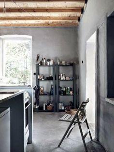 Concrete & Wood Combo. Méchant Studio Blog