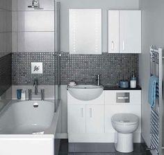 I paneláková koupelna může být asi za 80 000 Kč koupelnou plnou soukromí a ticha; Design Ideas