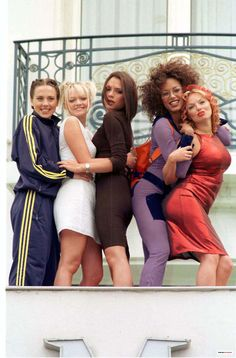 Girl Power! ~ Spice Girls At Cannes In1997 I've Always Been A Fan