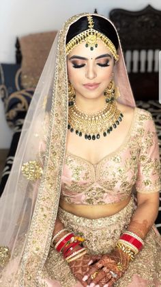 Le Decor Que J'adore - bridal gown india Indian Bridal Lehenga, Indian Bridal Outfits, Indian Bridal Fashion, Indian Bridal Wear, Indian Dresses, Bridal Dresses, Indian Bridal Jewelry, Bridal Jewellery, Bridal Gown
