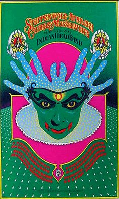 These shows took place October 1968 at the historic Avalon Ballroom in San Francisco. was designed by Wes Wilson, and is the image in the Family Dog series. Hippie Posters, Rock Posters, Band Posters, Psychedelic Rock, Psychedelic Posters, Vintage Concert Posters, Vintage Posters, Baphomet, Jimi Hendrix