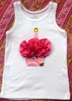 Cute birthday tank for a girl