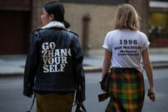 NYFW SS16 Street wear Women's Fashion Margret Zhang