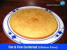 Gluten-Free Flat and Firm Cornbread Gluten Free Easily