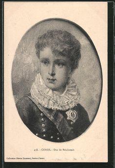 Source: ebay.com    Ansichtskarte / Postkarte  AK Porträt Duc de Reichstadt, Sohn Napoleons