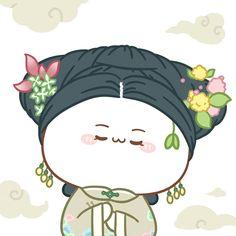 Chibi Kawaii, Cute Chibi, Kawaii Cute, Wallpaper Doodle, Little Buds, Harry Potter Anime, Meme Pictures, Doraemon, Mochi