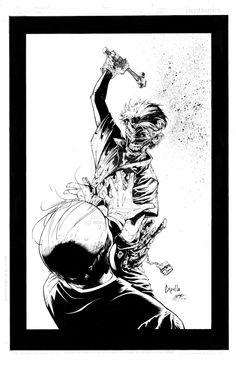 Joker, DC Comics - art by Greg Capullo