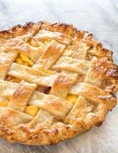 Homemade Peach Pie Recipe, Best Peach Pie Recipe, Homemade Peach Cobbler, Fresh Peach Pie, Peach Pie Recipes, Peach Cobbler Recipe With Canned Peaches And Pie Crust, Peach Cobbler Pie Crust, Recipes With Peaches, Peach Pies