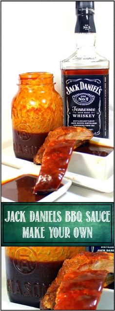 Jack Daniel's BBQ Sauce - Feeding Larry Pt 1 - Grilling Time Condiments... With visiting friends from Tennessee, I just had to make a fresh Glaze/BBQ Sauce using native Tennessee ingredients. Deep Rich Colors combine with a sweet spicy sauce for a perfect glaze. Have a bowl around for dipping and you have a perfect sauce! EASY and a Crowd Pleaser