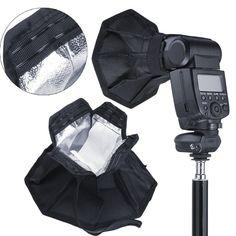 ">> Click to Buy << Flash Softbox for Speedlight Kit - Portable 8""/20cm Octagon Softbox + 8""x6""/20x15cm Softbox Set Camera Flash Diffuser #Affiliate"