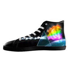 05ca4b5d6d3 LAI LAI Women s Black High Top Canvas Shoes Rock band Pink Floyd Canvas  Shoes  Amazon.ca  Shoes   Handbags