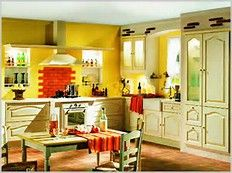 Kitchen wall colors and schemes - some are wacky, some are cool...all should inspire you to think outside the box!