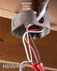 Wiring problems and mistakes are all too common, and if left uncorrected have the potential to cause short circuits, shocks and even fires. Here's what to look for and how to fix what you find.