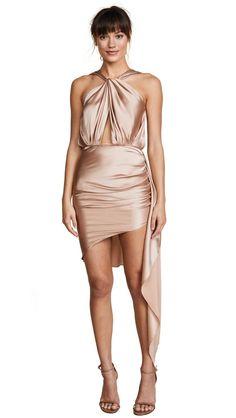 Vatanika Sleeveless Dress With Ruched Skirt $650