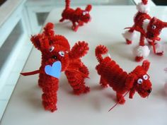 Pipe Cleaner Poodles