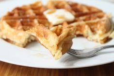 Yeast Leavened Belgian Waffles