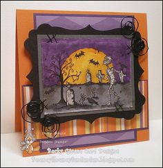 New Release image from Bugaboo Stamps.  Scene It Mummy
