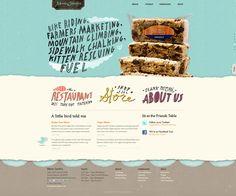 website typography.