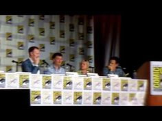 Sherlock SDCC Panel - July 18 2013 - from the SDCC blog! The clip from Series 3 is omitted, but there are still semi-spoilers, so don't watch if you're avoiding them entirely. However, if you don't mind knowing *a little* you most definitely should watch this because these people are spectacular. If you want it all, I recommend pausing at the blank where the clip would be and looking up the tumblr summery (detailed-summary-of-the-special-scene-of-sherlock).