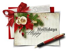 Christmas Greeting Card by casuality on Polyvore featuring art