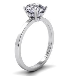 Danhov #Classic #simplistic #ring #engagement #diamond #wedding #bridal